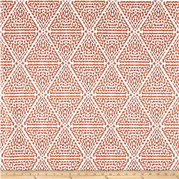 Lacefield Designs Miguel Linen Blend Basketweave Papaya