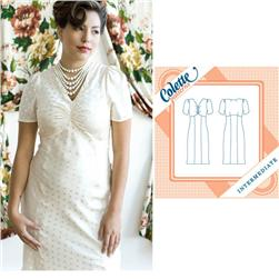 Colette Oolong Dress Pattern