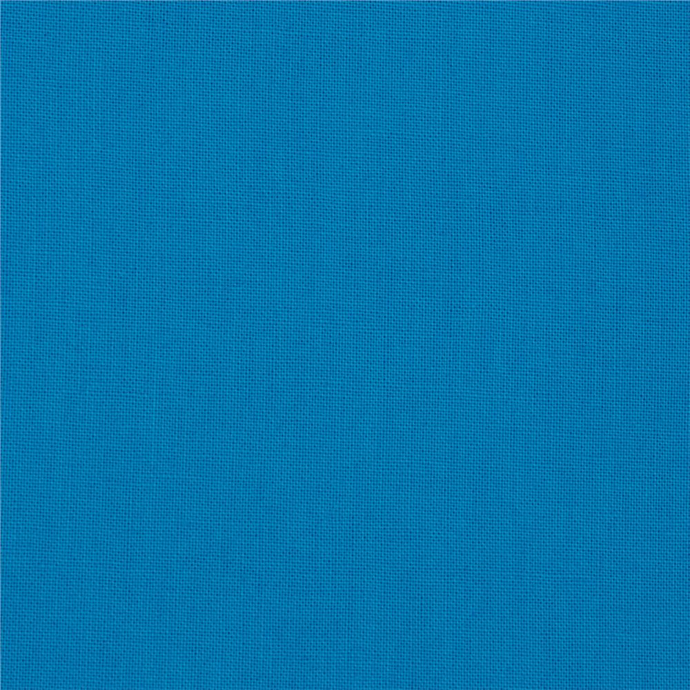 "Kona Cotton Solid 108"" Wide Quilt Back Turquoise"