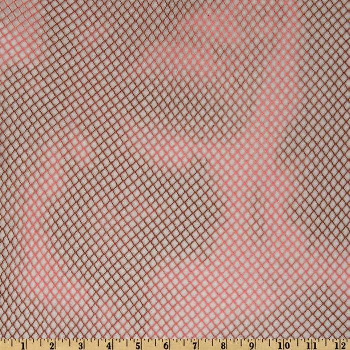 Woven Net Mottled Coral/Brown