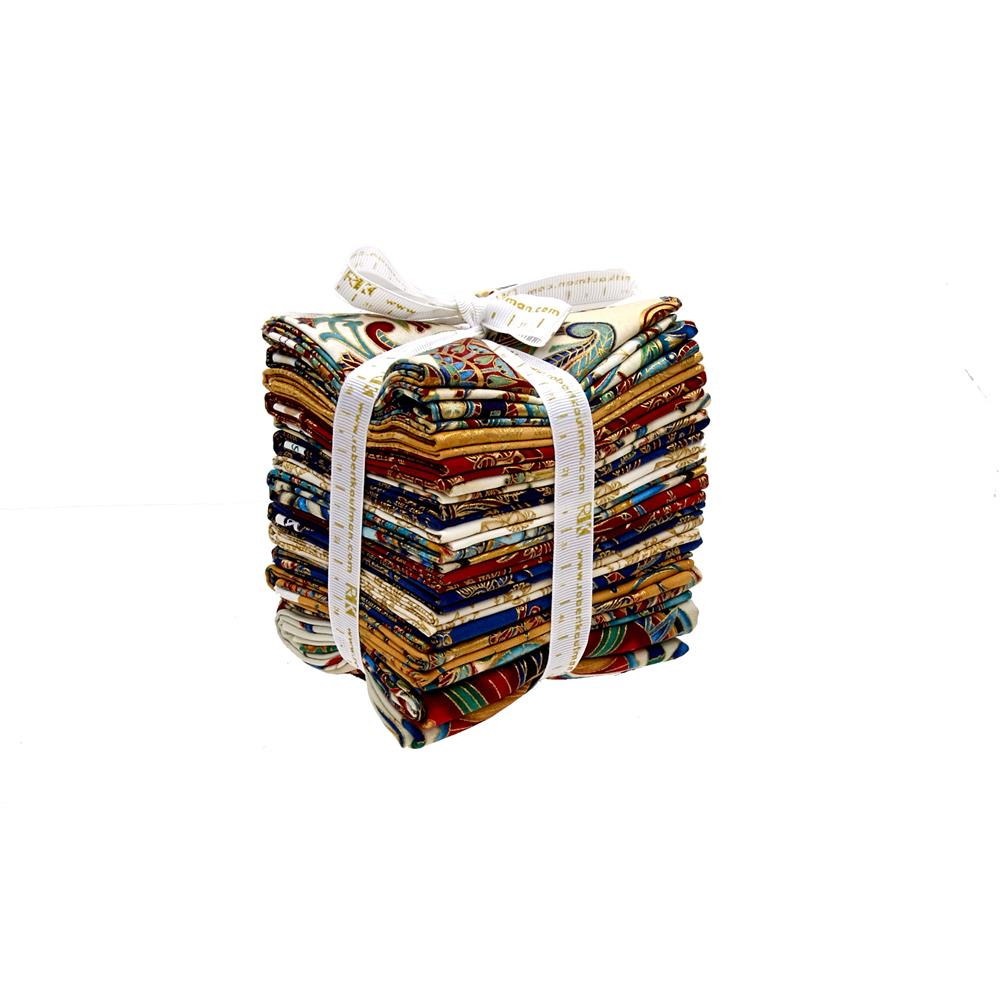Kaufman Valley of the Kings Fat Quarter Bundle Spice