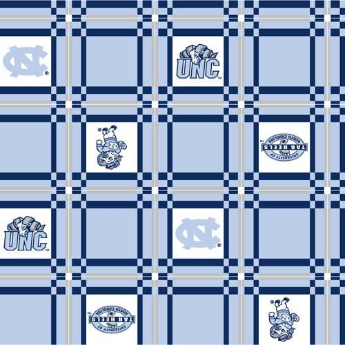 Collegiate Tailgate Vinyl Tablecloth University of North Carolina Blue/White