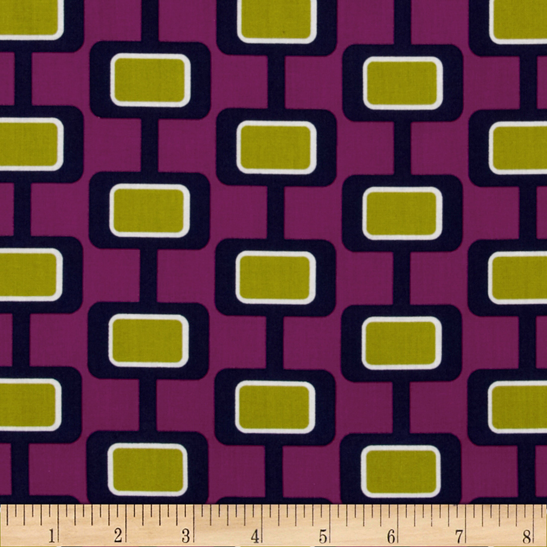 Michael Miller Urbanista Madison Stripe Jewel Fabric