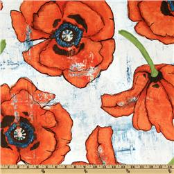 Michael Miller Big Poppy Spice