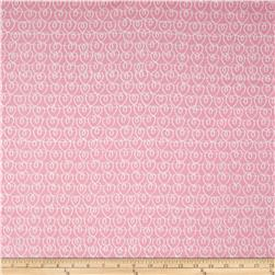 Kanvas Tiny Dancer Heart Ribbons Pink