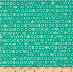 Riley Blake Boy Crazy Circles Teal