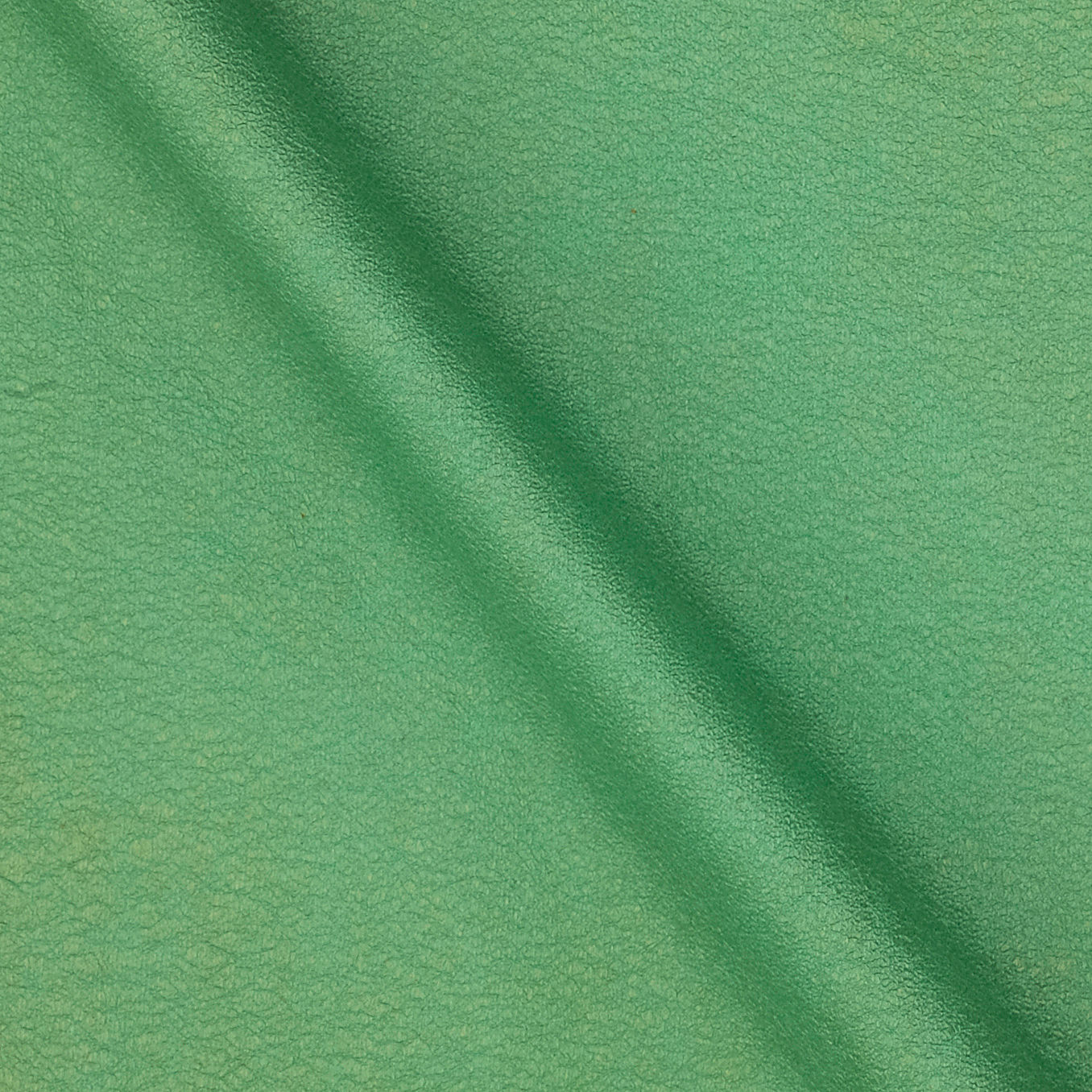 Versace Faux Leather Green Fabric