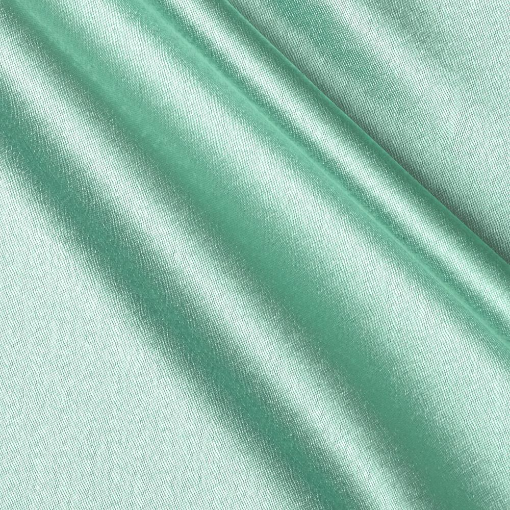 Reversible Crepe Back Satin Seafoam