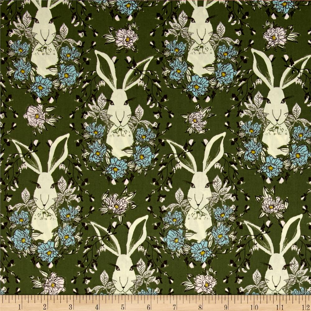 Forest Lake Fabric Home: Art Gallery Forest Floor In The Thicket Dusk