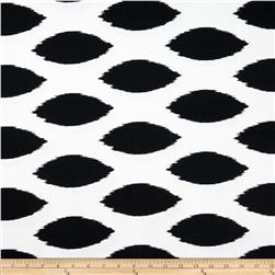 Premier Prints Chipper Black/White Fabric