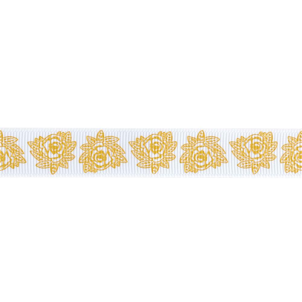 "Riley Blake 5/8"" Grosgrain Ribbon Indie Chic"