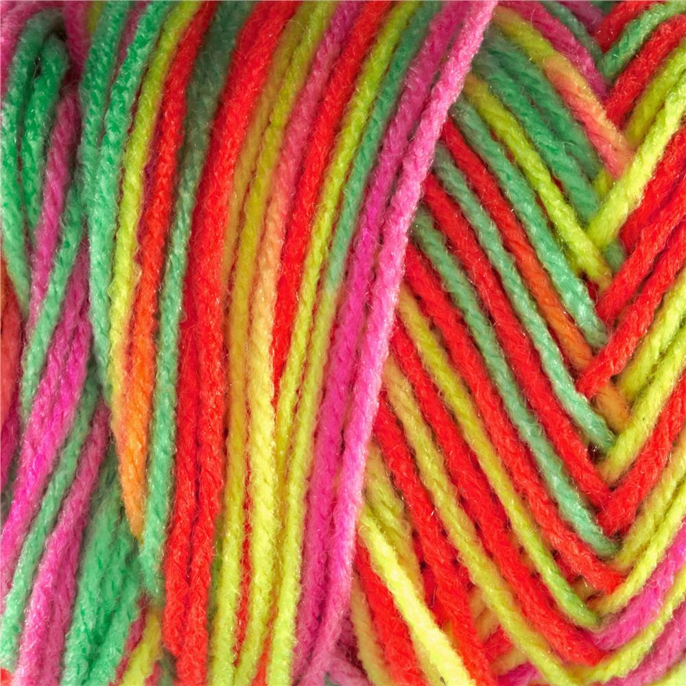 Red Heart Super Saver Econ Day Glow Yarn