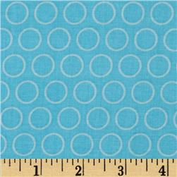 Riley Blake Just Dreamy 2 Circles Blue