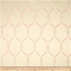 Starlight Lodi Metallic Diamond Satin Jacquard Blush