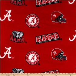 Collegiate Fleece University Of Alabama Red