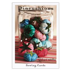 Valori Wells Pincushions Sewing Card Pattern