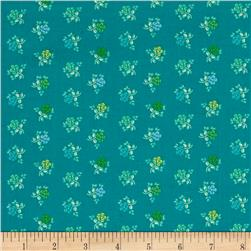Intrigue Flower Teal