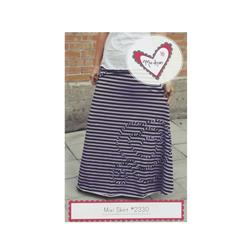 Mixi Heart Mixi Skirt Pattern