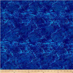Island Batik Waves Blueberry
