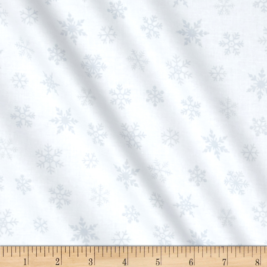 Susybee Gwyn the Penguin Snowflake White Fabric by Susybee in USA