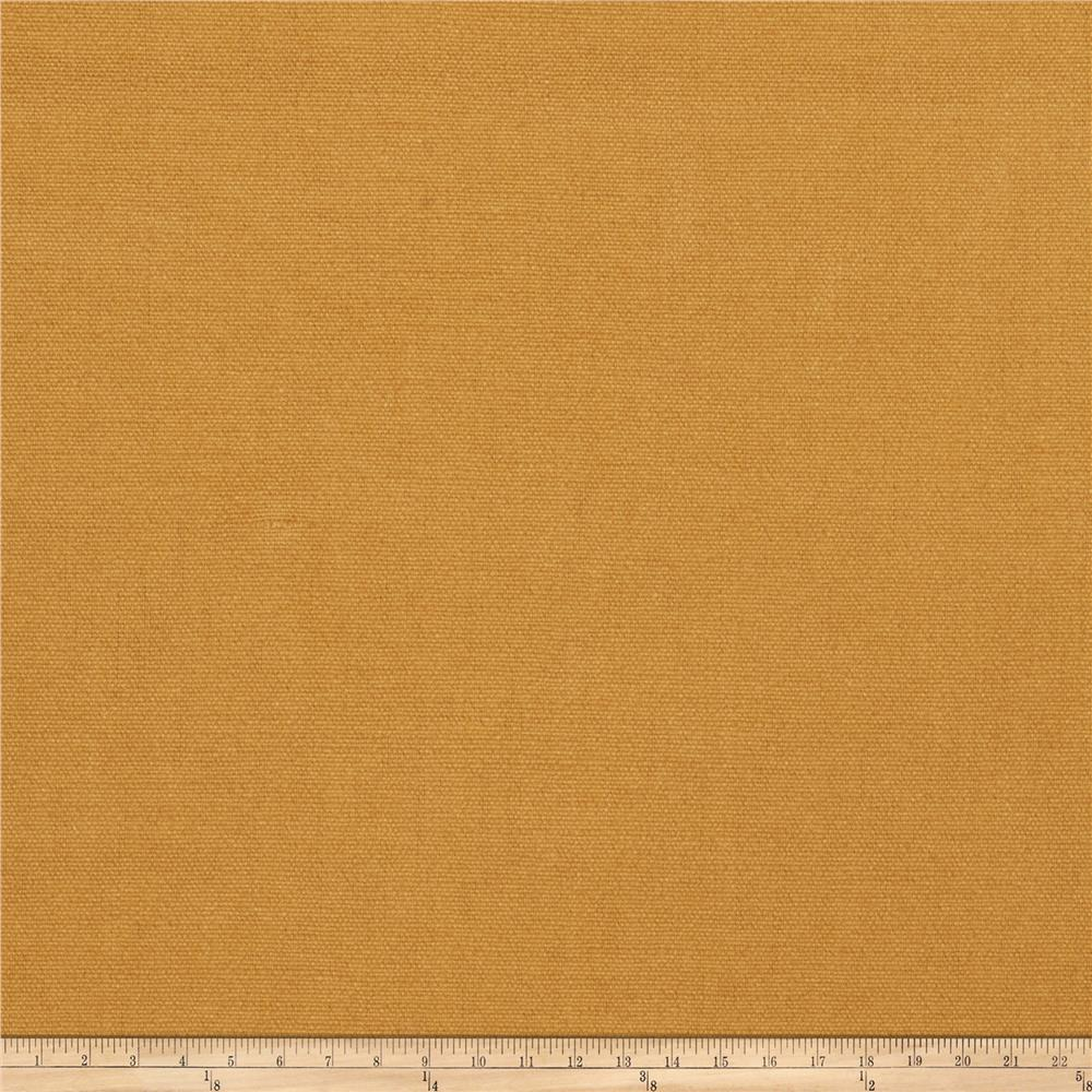 Fabricut Facet Linen Blend Curry