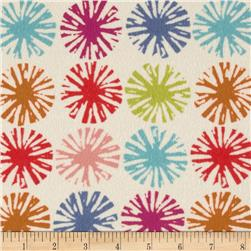 Dear Stella Oh Happy Day Flannel Asterisks Multi