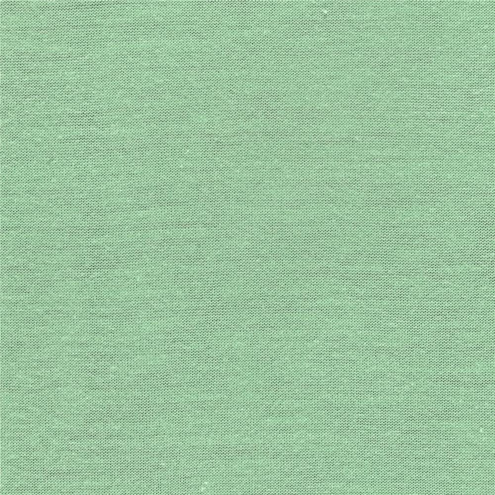 Silky Rayon Jersey Knit Solid Lime Fabric