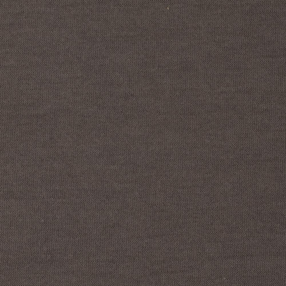 Stretch Rayon Blend Jersey Knit Solid Metal Grey
