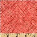 Architextures Grid Plaid Poppy