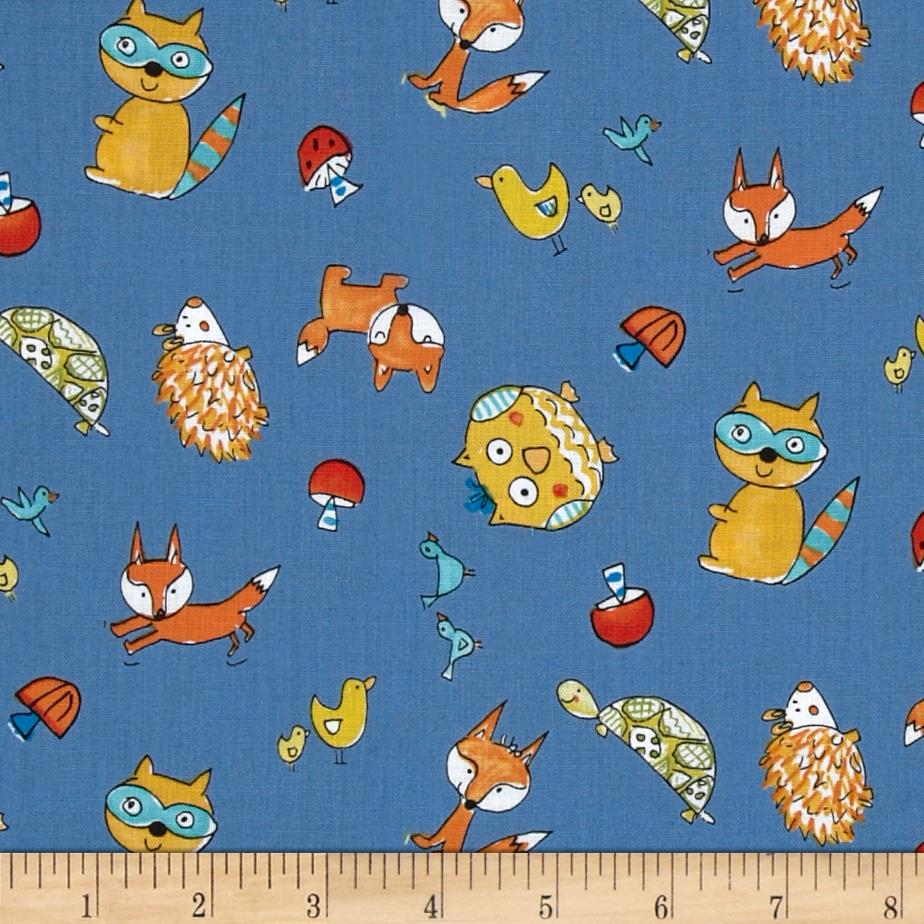 foxes yoga fabric - photo #21