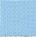 Woven 1/8'' Daisy Gingham Turquoise