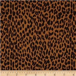 Black & Tan Leopard Cognac/Black