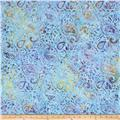 Timeless Treasures Tonga Batik Paisley Breeze