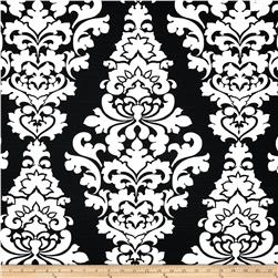 Premier Prints Berlin Slub Shadow Black Fabric