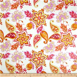 Riley Blake Laminate Splendor Large Floral White