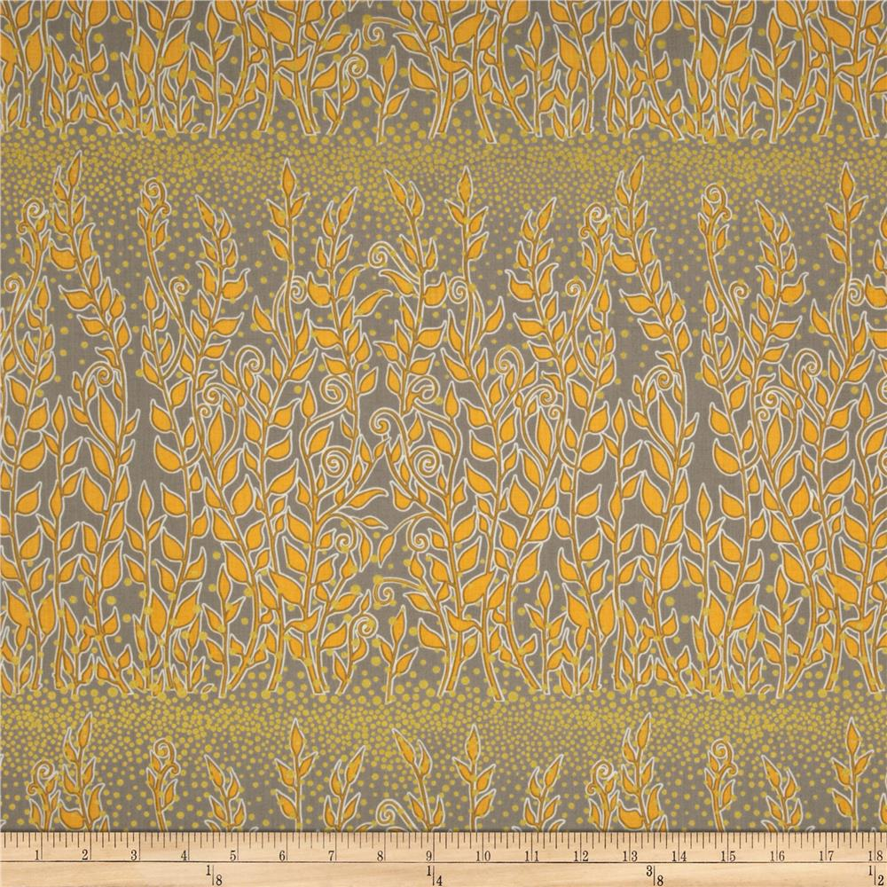 Enchantment Metallics Large Vines Yellow/Taupe