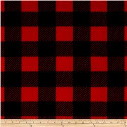 Buffalo Plaid Fleece Black/Red