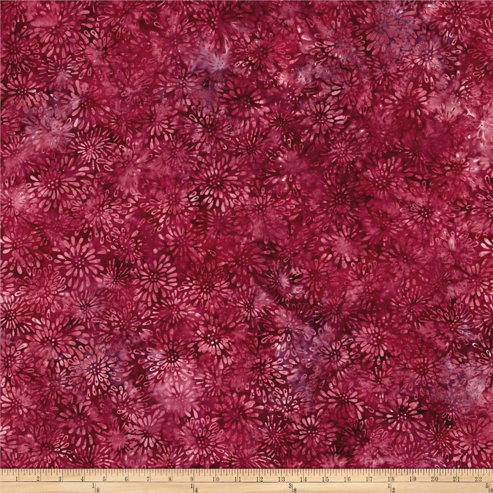 Wilmington Batiks Dancing Petals Red/Pink