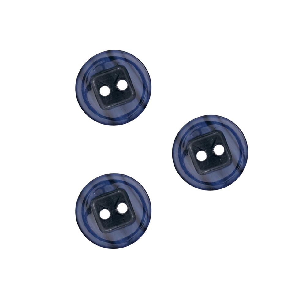 "Fashion Button 3/4"" Oulu Navy"