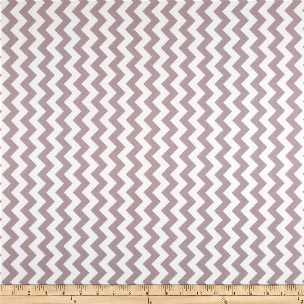 Riley Blake Chevron Small Grey (2)
