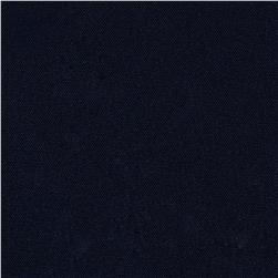Poly Poplin Dark Navy Fabric