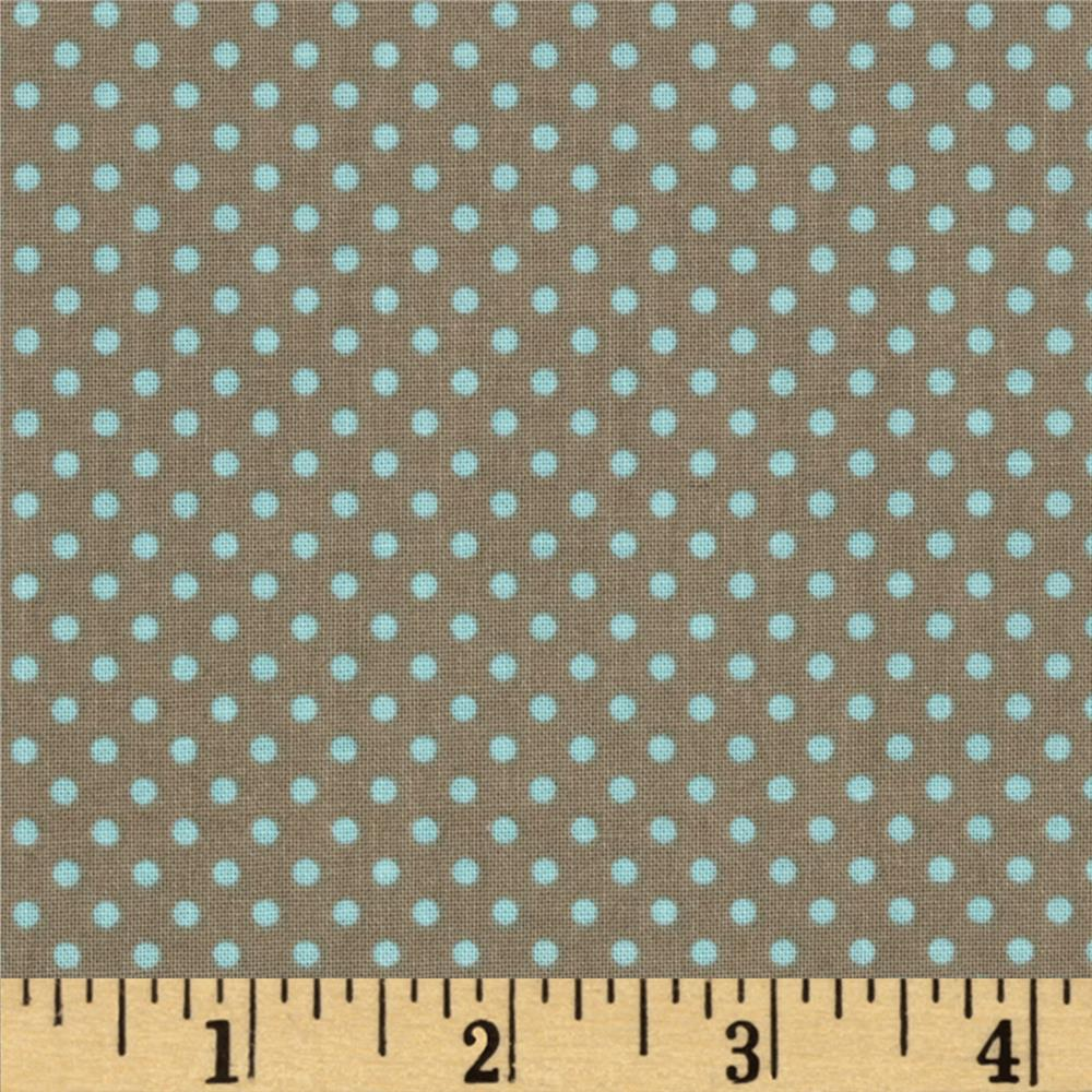 Riley Blake Kensington Dots Grey