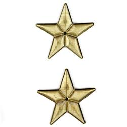 Metalized Button 1 1/8'' Super Star Gold