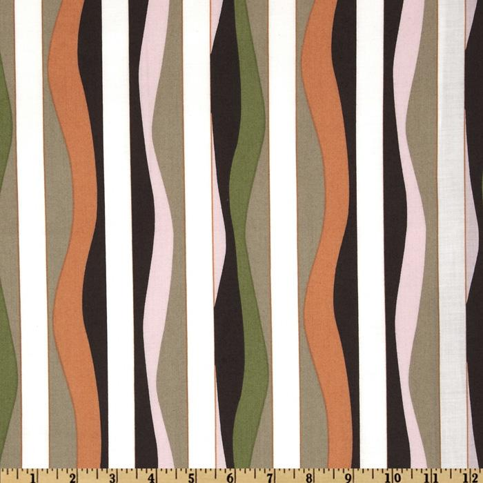 Mod 2010 Collection Stripe Papaya