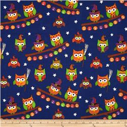 Trick or Treat Owls Royal