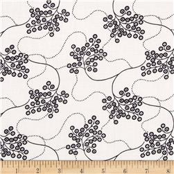 Nancy Gere Low Country Indigo Flowing Floral Linen