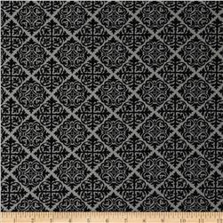 Moda El Gallo Damask Tile Ebony