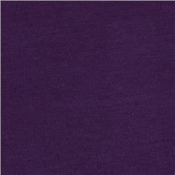 Cotton Jersey Knit Deep Purple