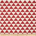 HGTV HOME Tribeca Jacquard Ruby