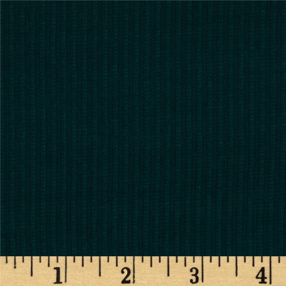 Hatchi Rib Knit Teal Green